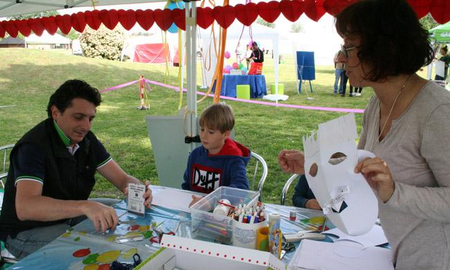 Children at Artwork