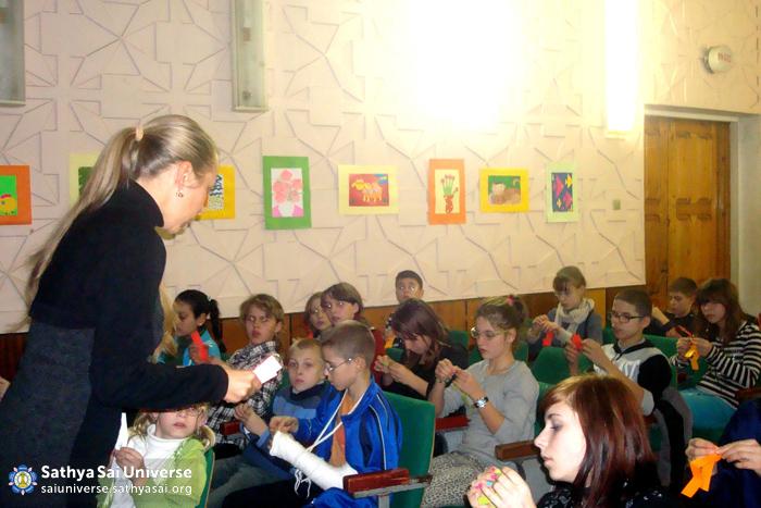 Children with Impaired Vision in Ukraine