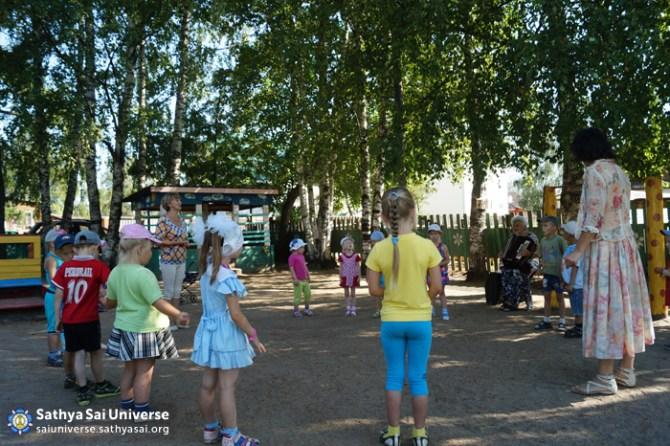 Children's Activities at Camp