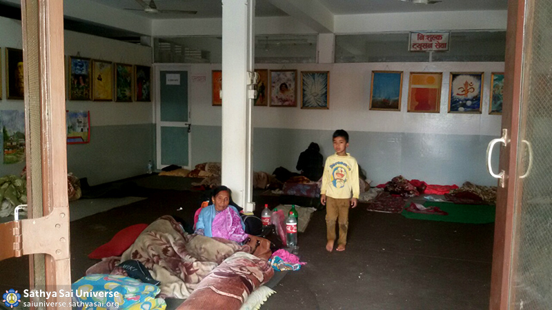 Housing the displaced at the Sai Centre