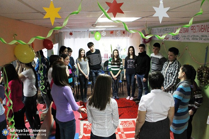 2015.01.3-8Z-Russia-Siberian region of Kemerovo - Baby Conference -Game on cooperation