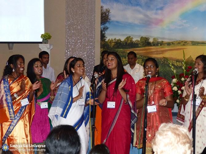Vibrant youth presentation