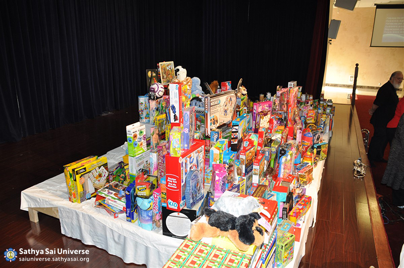 Z1 Canada Toy Drive piles of toys