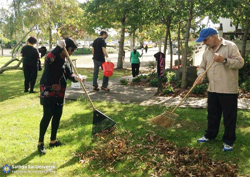 nz-temple-cleaning-rake-the-garden