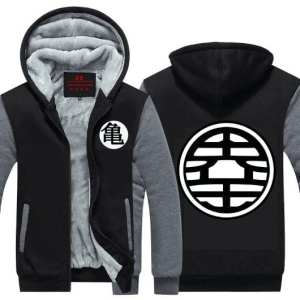 Dragon Ball Z King Kai & Master Roshi's Kanji Hooded Jacket