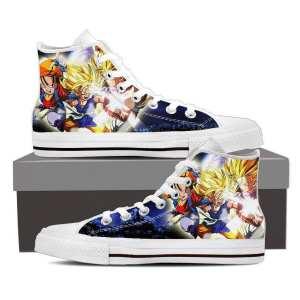 Dragon Ball Goku Kid Super Saiyan Fan Art Theme Casual Wear Sneaker Shoes