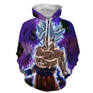 Dragon Ball Z Goku Perfected Ultra Instinct Form Hoodie