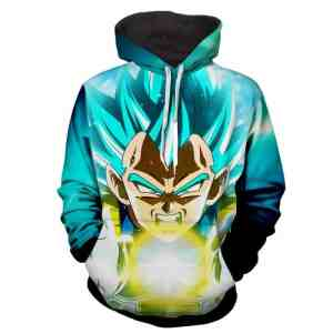 Dragon Ball Z The Breathtaking Super Saiyan Vegeta Hoodie