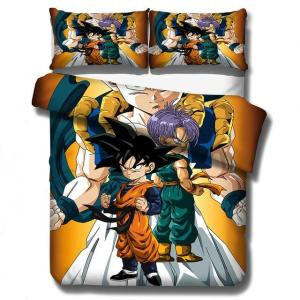 Gotenks DBZ Son Goten & Trunks Fusion Dance Bedding Set