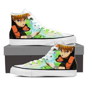 Naruto Shippuden Lightning Rasengan Awesome Sneakers Shoes