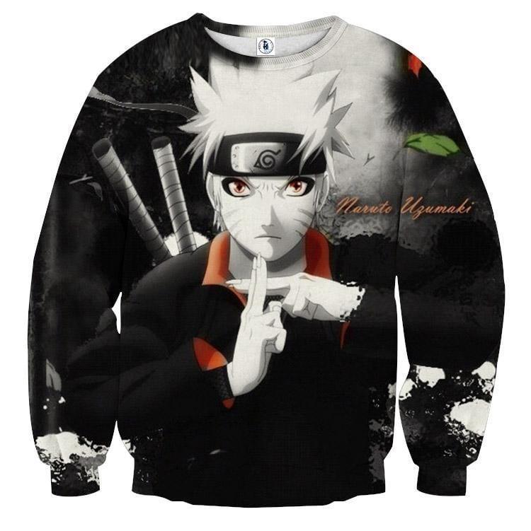 Naruto Jinchuuriki Lengen Ninja Fan Art Anime Sweatshirt