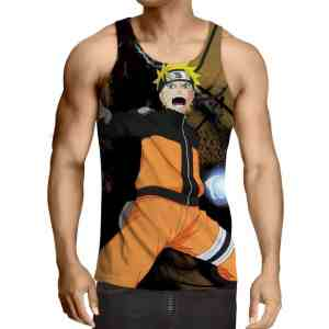 Naruto Shippuden Ninja Hero Rasengan Cool Style Tank Top