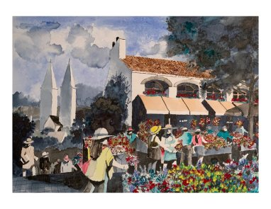 Flower Market-2020