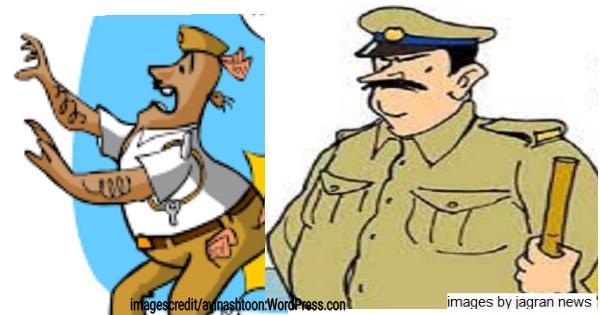 Traffic police pune cha kartoy kabab thanyatil police cha rubab,