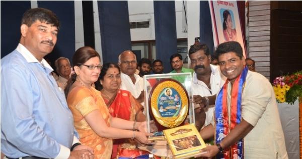 Dalit Panther Padmashree namdeo dhasal Award Distribution