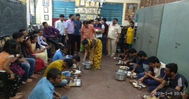 Great response to the puran poli donation program