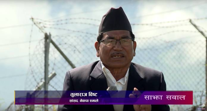 Tula Raj Bista, Communist Party of Nepal Sajha Sawal Karnali Episode