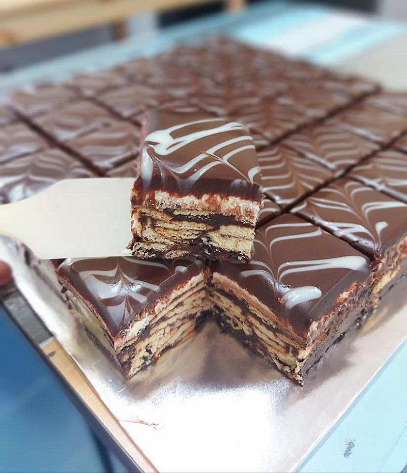 membuat resepi kek batik lembut telur foody bloggers Resepi Kek Paling dan Murah Enak dan Mudah