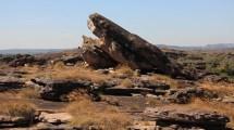 Sur le rocher d'ubir
