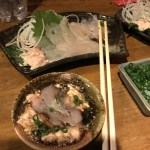 大倉山『ほうろく屋』で今季初カワハギを食す  694