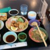 空港にて豊後名物料理を食す  844