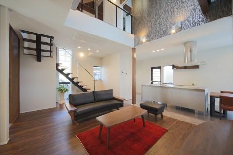 新築住宅 竣工写真 「○ THE BASE の家」 7