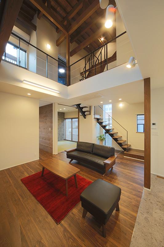 新築住宅 竣工写真 「○ THE BASE の家」 9