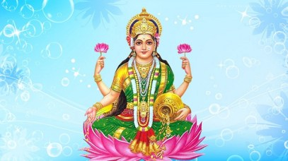 People worship Lakshmi Devi on Akshaya Tritiya