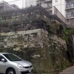傘谷坂の石垣