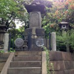 上野のお山の彰義隊の墓