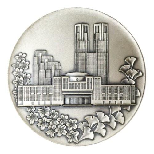東京都メダル(銀いぶし仕上げ)