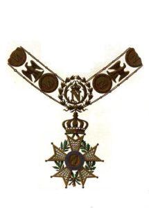 レジオンドヌール勲章メダル