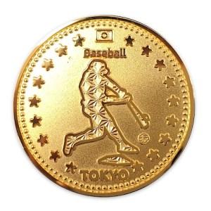 東京オリンピック2020・記念メダル・野球