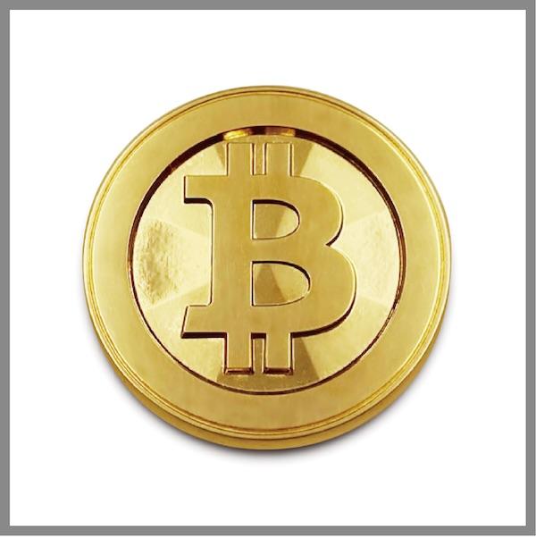 純金ビットコイン