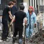 尾畠春夫さん浸水被害の天ケ瀬温泉に登場!土砂を取り除く復旧作業の手伝いを!今後の天気も気になる!