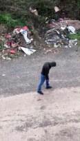 Bali çeken gencin içler acısı hali kameraya yansıdı