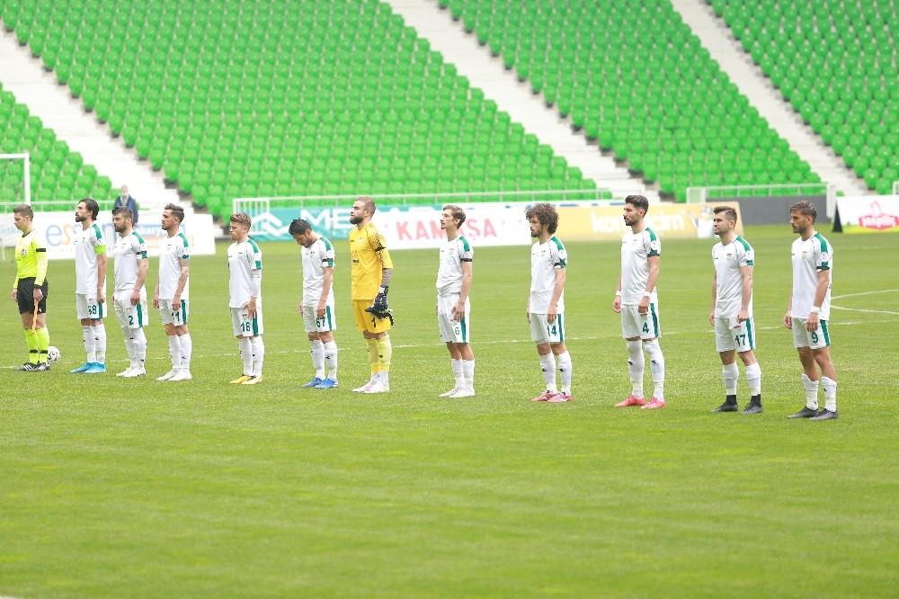 2. Lig: Sakaryaspor: 1 – Kırşehir Belediyespor: 1