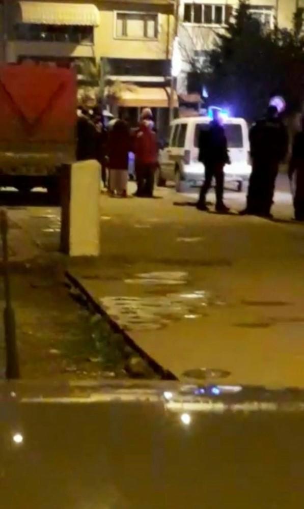 Alkol alıp kavga eden şahıslar mahalleliyi bıktırdı