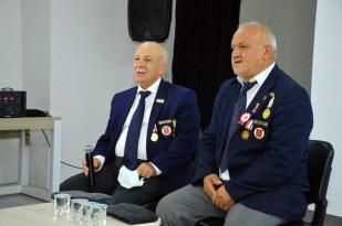 Öğrenciler, Kıbrıs Barış Harekatı'nı gazilerden dinledi