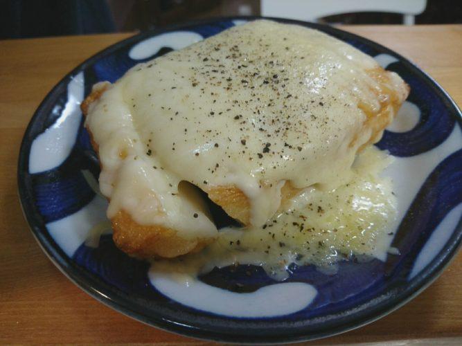 おうち居酒屋!揚げ蒲鉾チーズに始まり鶏鍋で〆。