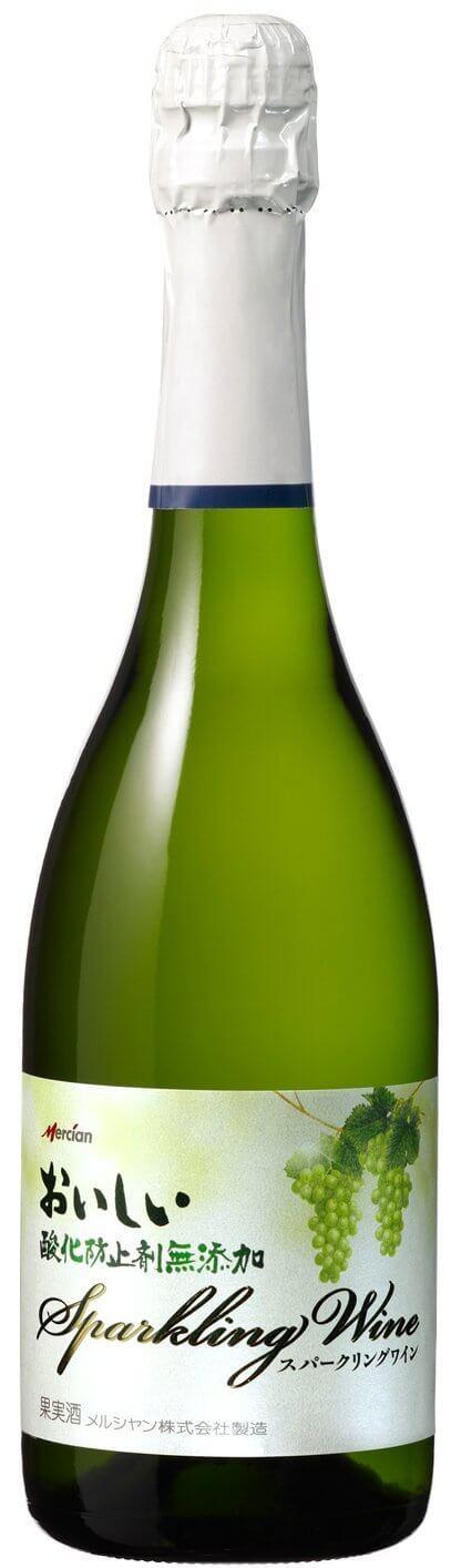 メルシャン おいしい酸化防止剤無添加 スパークリングワイン 白