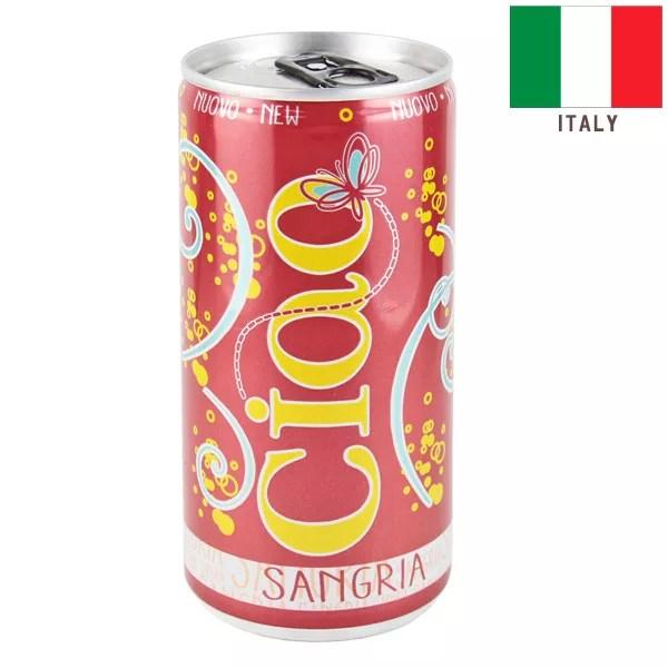 スパークリング缶ワイン チャオ サングリア