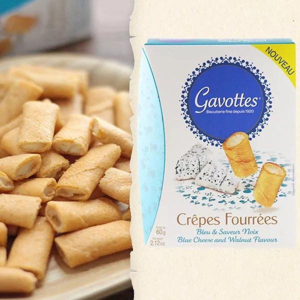 ガヴォット ミニクレープ ブルーチーズ&ウォルナッツ