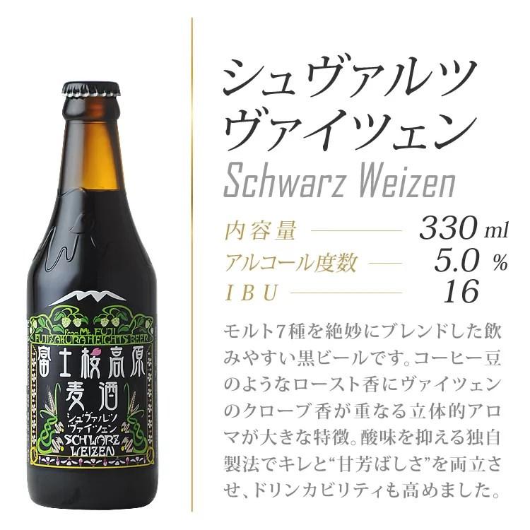 富士桜高原麦酒 シュバルツヴァイツェン