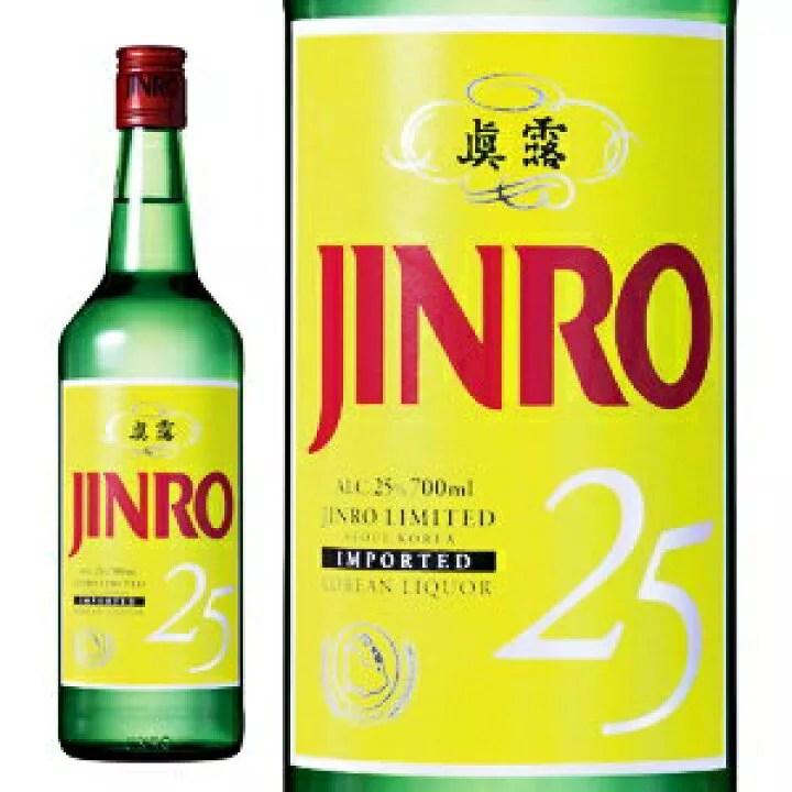 JINRO 眞露(ジンロ) 25度