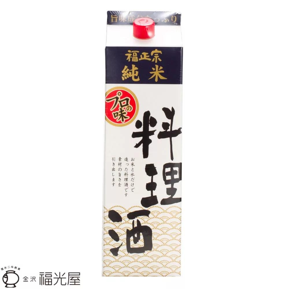 福正宗 純米料理酒 紙パック 1800mL