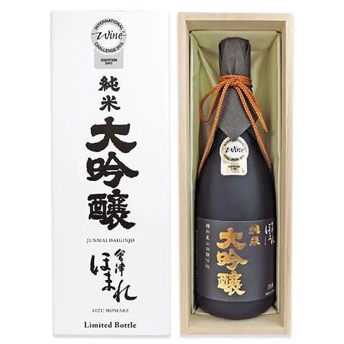 ほまれ酒造 会津ほまれ 播州産山田錦仕込み 純米大吟醸酒