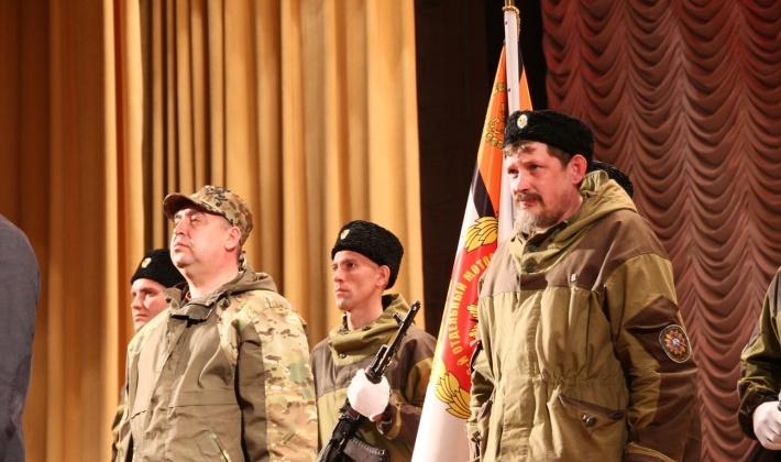 Dryomov ottiene il banner da Plotnitsky.