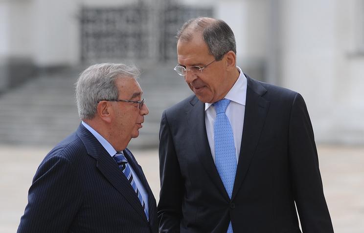 Lavrov e Yevgeny Primakov