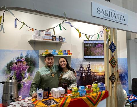 Продукцию «Сахачай» представили на ярмарке в Германии